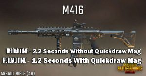 Reloading Time Of M416