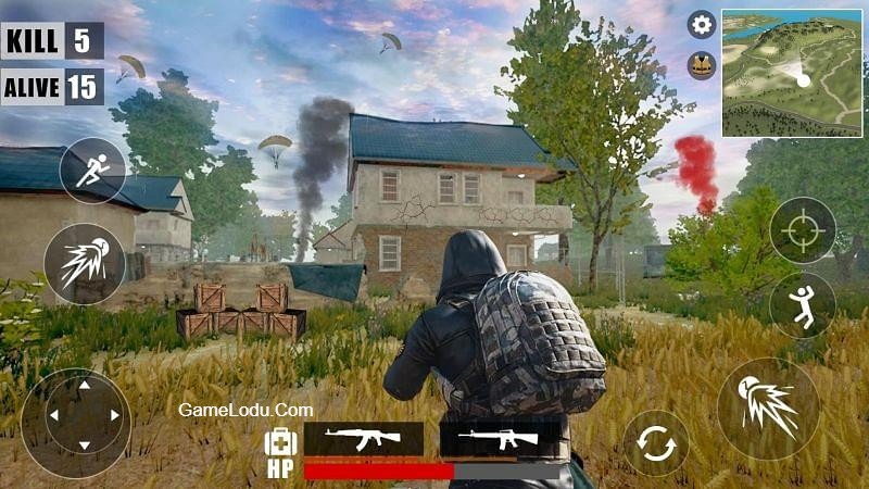 Survival Battleground Free Fire: Battle Royale